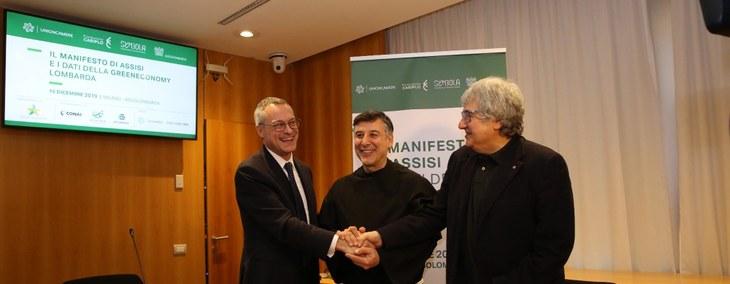 """Carlo Bonomi firma il Manifesto per il Clima di Symbola: """"Serve una cabina di confronto tra Governo e imprese per definire le priorità strategiche del futuro"""""""