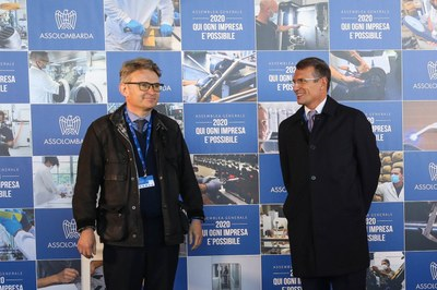 Assemblea Generale 2020 - Alessandro Spada con John Dickie
